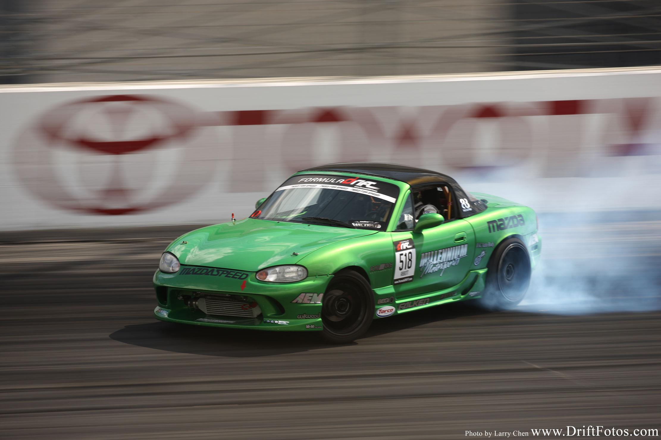 Jeff Abbott Miata Drifting