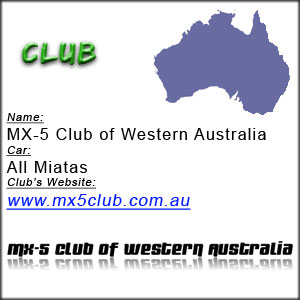 MX-5 Club of Wester Australia