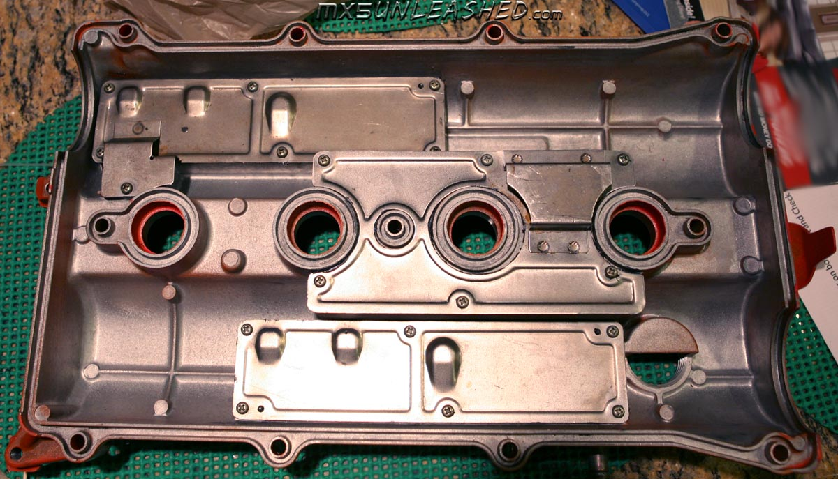 miata valve cover modification